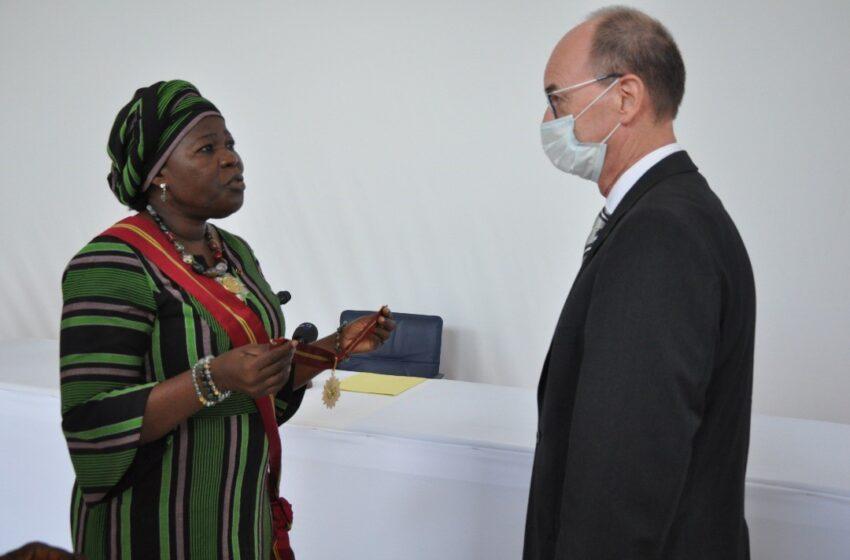 Pour services rendus à la Nation béninoise: L'Ambassadeur Achim TRÖSTER honoré