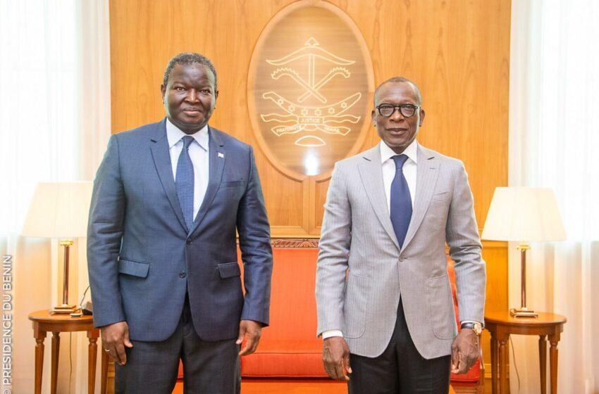 Abdoulaye Diop reçu par Patrice Talon : Plusieurs sujets au menu de la rencontre