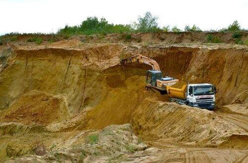 Commercialisation de sable fluvial dans la Commune de Dangbo: Les carrières illégales suspendues