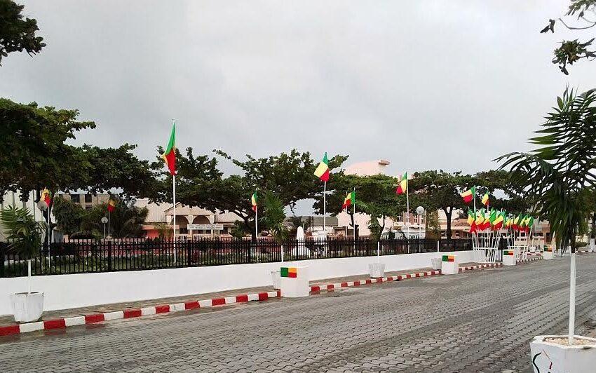 Célébration des 61 ans d'indépendance : Cotonou et Abomey-Calavi déjà aux couleurs nationales