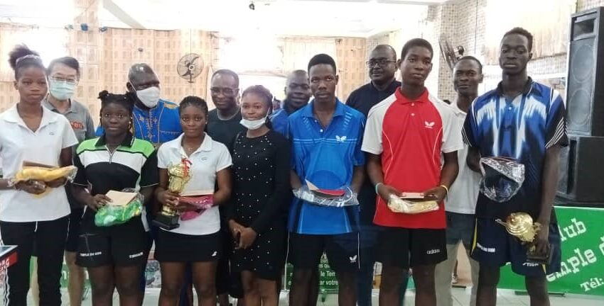 6e édition du Tournoi de tennis de Table Ping Docteurs: Adou Amir et Laurette Goussikindé vainqueurs