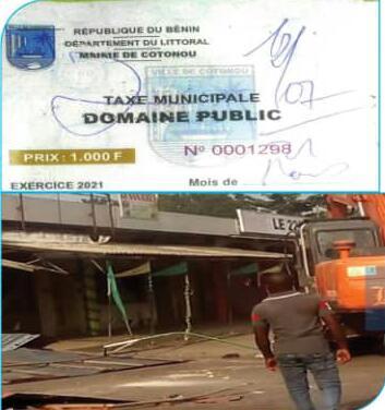 Espaces publics à Cotonou : L'Etat chasse, la mairie récolte