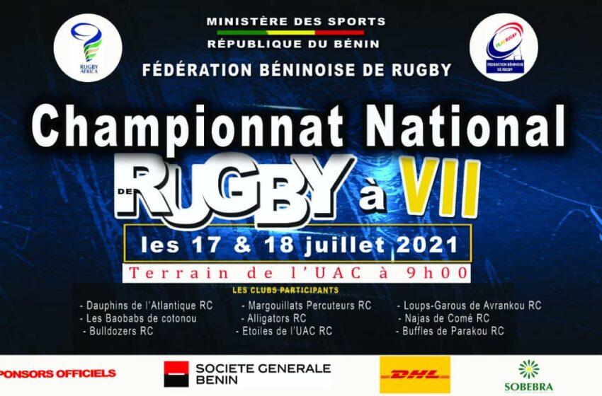 Championnat national masculin senior de Rugby à 7: C'est ce weekend à l'Université d'Abomey-Calavi