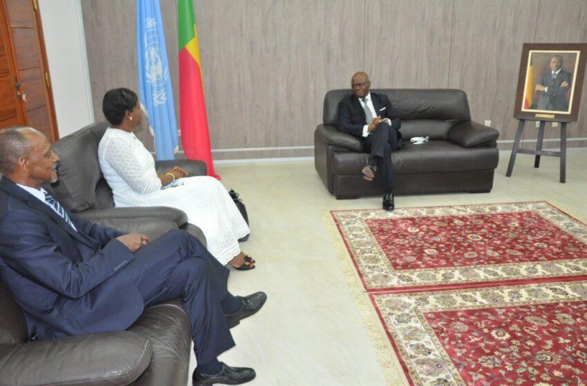 Audience au cabinet du ministre Agbénonci: Oulimata Sarr échange sur plusieurs sujets
