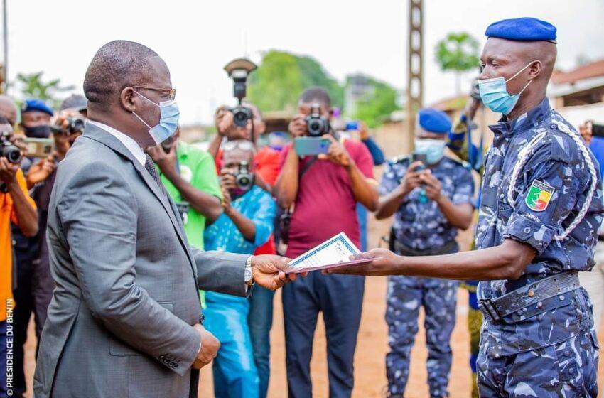 Sécurité au Bénin : Sortie officielle de 600 élèves agents de Police