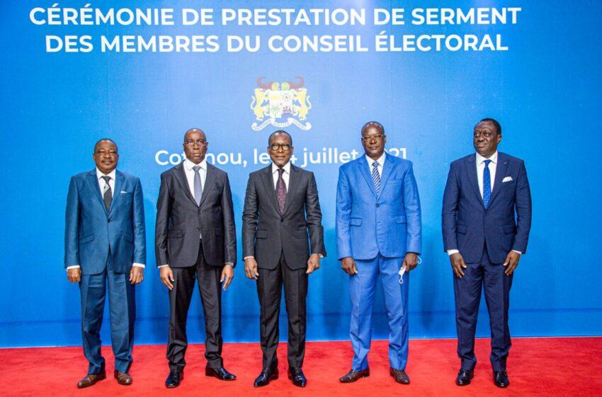 Conseil électoral : Les membres prêtent serment