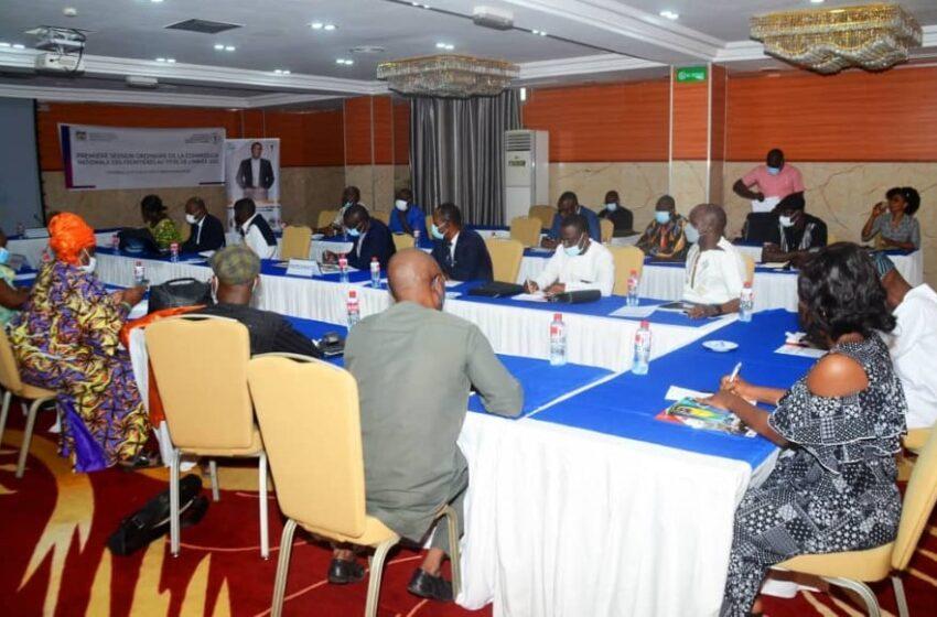 Session ordinaire de la commission nationale des frontières : L'appel aux autres ministères