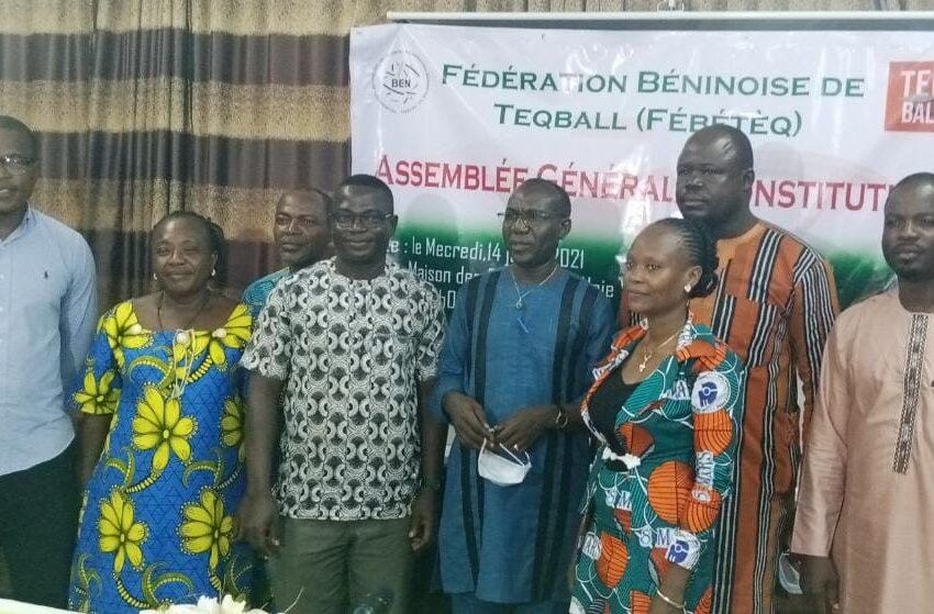 AG constitutive de la Fédération Béninoise de Teqball: Vincent Francis Kpohihoun, premier président élu