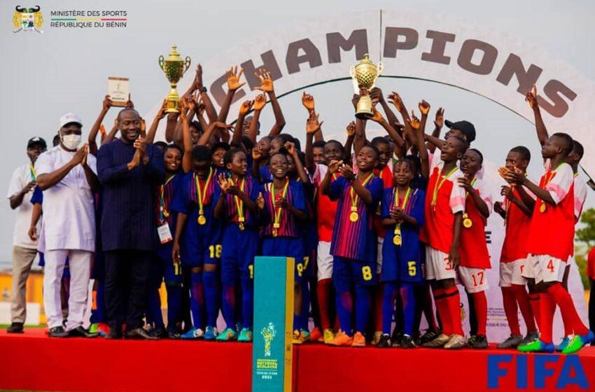 Championnat national scolaire Bénin-Fifa 2021: Clap de fin