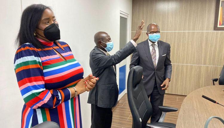 Visite de travail au Bénin du Vice-Président de la Zone WECA du Groupe MTN : Ebenezer ASANTE satisfait
