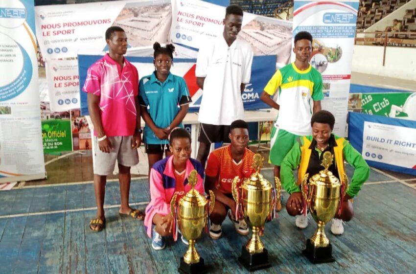 Tournoi international de tennis de table « Blaise Soglo » : Akadiri Ziadath et Amadji King sacrés