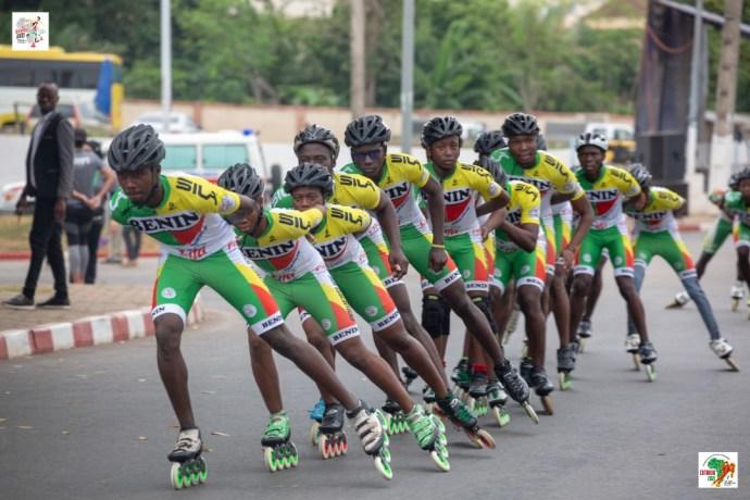 Championnats d'Afrique de Roller sports : Une première journée riche en médailles pour le Bénin