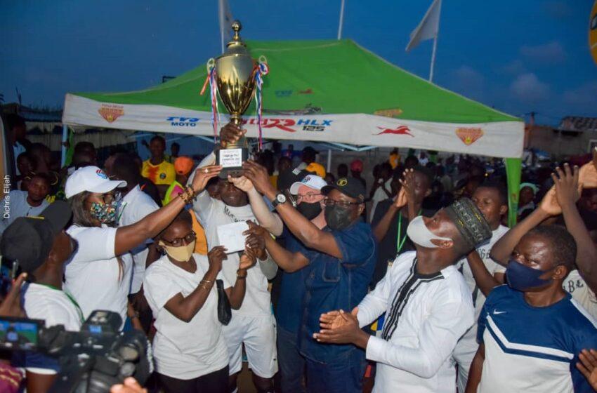 """6e édition du tournoi de football """"League des Pros"""": Et de deux pour Mustang FC de Pahou"""