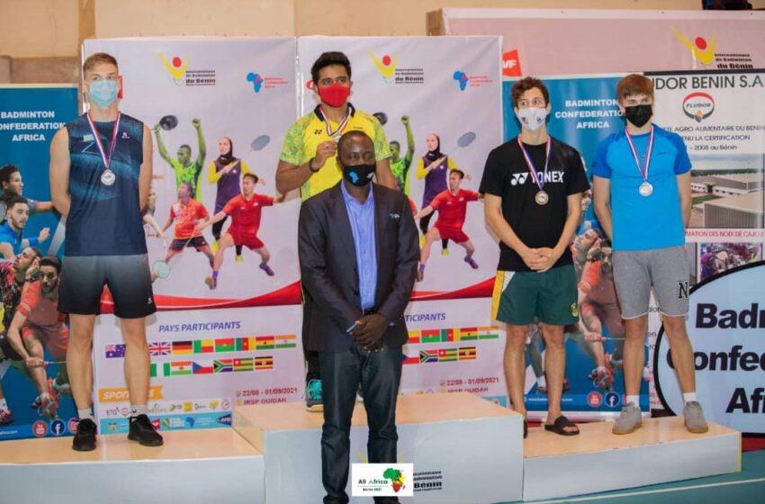4e édition des Internationaux de Badminton : L'Afrique du Sud pour la part du lion, le Bénin en bronze