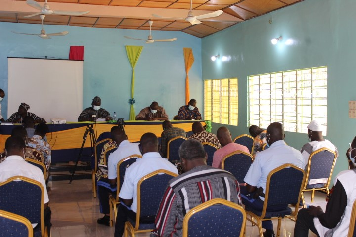 Conférence administrative communale: La Mairie de Banikoara sacrifie à la tradition