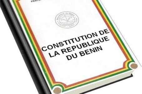 Nouvelle proposition de changement de la constitution : Une blague de mauvais goût