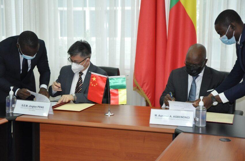 Coopération sino-béninoise: 22 milliards pour la densification du réseau haut débit
