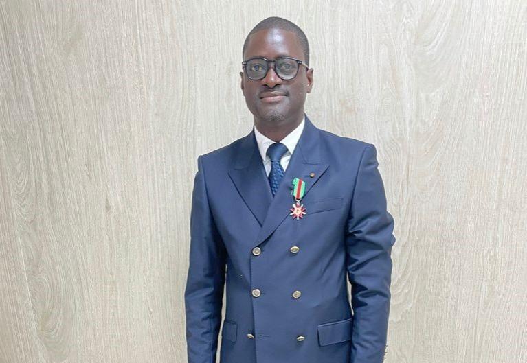 Officier de l'ordre National du Bénin: Labiou Amadou Djibril distingué