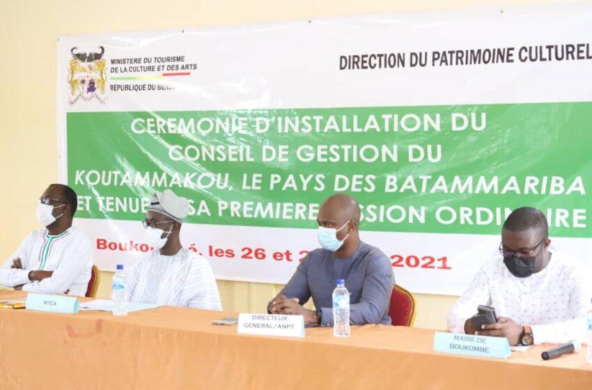 Koutammakou béninois sur le site de l'Unesco : Le Conseil de gestion installé