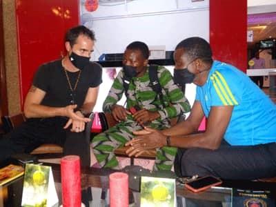Promotion du Triathlon au Bénin: Gabe Manner est à Cotonou
