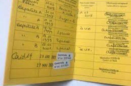 Trafic de carnet de vaccination anti Covid-19: Un infirmier et sa femme derrière les barreaux