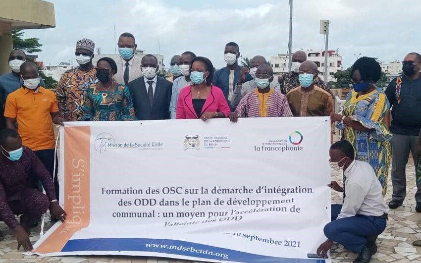 ODD dans les communes du Bénin : Les acteurs de la société civile s'y impliquent