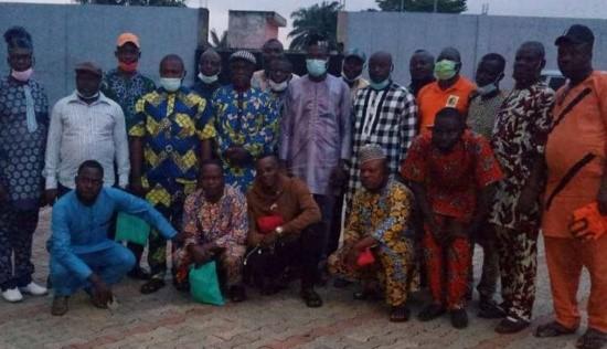 Comité transitoire des Dragons de l'Ouémé: Philippe Zoumènou prend service