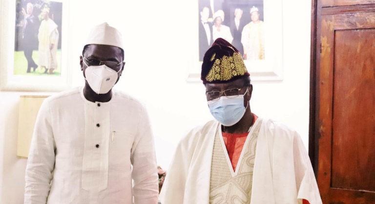 Décès de Rosine SOGLO : Les condoléances de Djogbenou au président Soglo