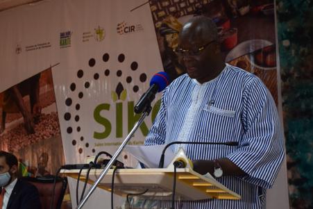 SIKO 2021: Le Ministre Siméon Sawadogo invite les acteurs à la consommation locale du beurre de karité
